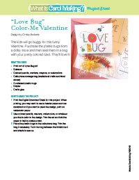 ColorMe Love Bug Valentine