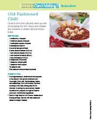 Old Fashioned Chili