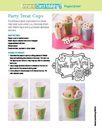Party Treat Cups
