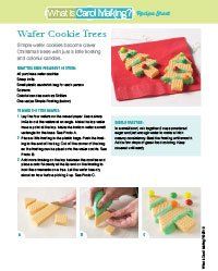 Wafer Tree Cookies