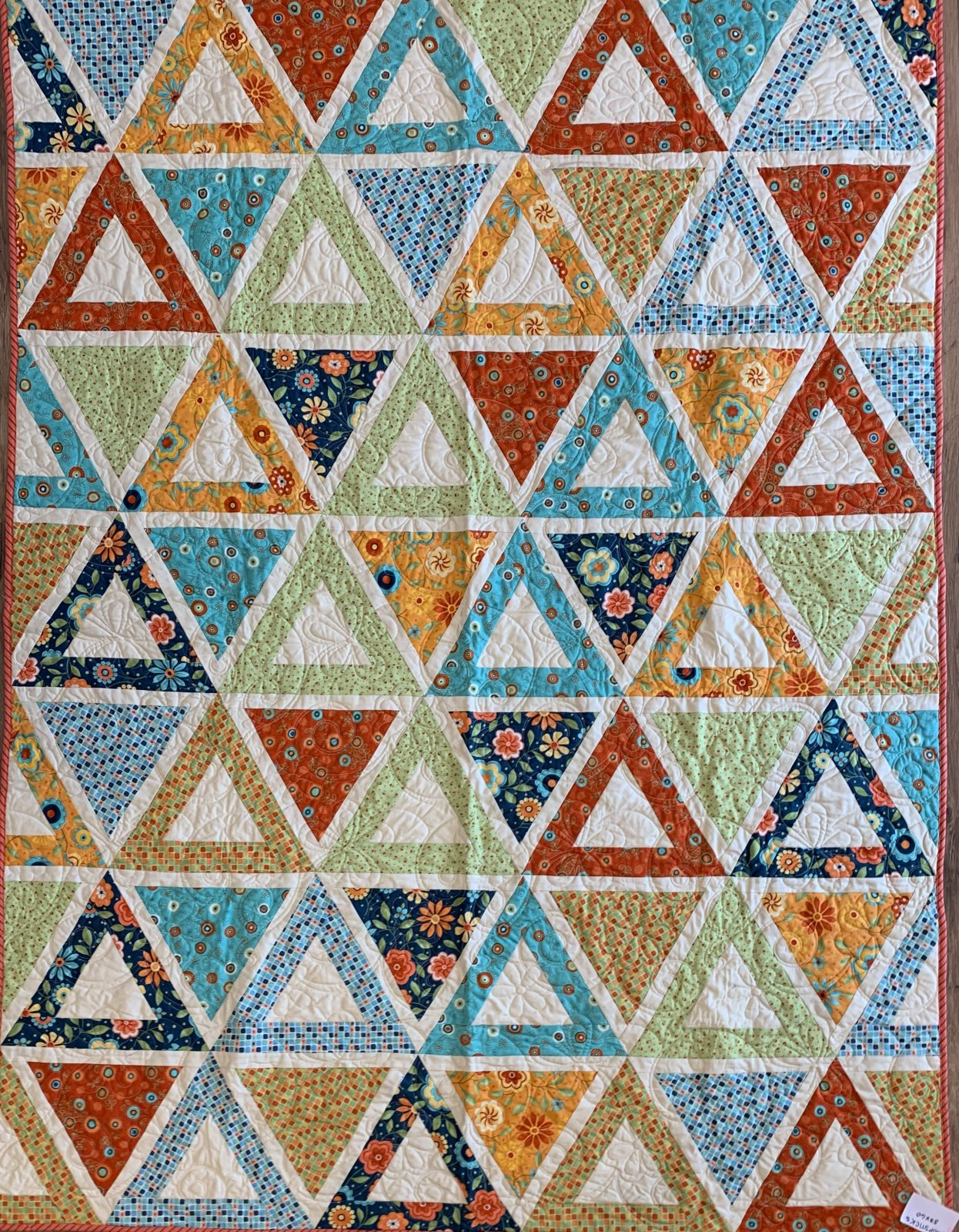 Chopsticks Quilt 63 x 84