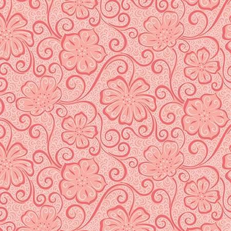 Light Red Floral Blender - Meadow Dance