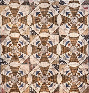 Whirligig Quilt / Wall Hanging 45 x 60