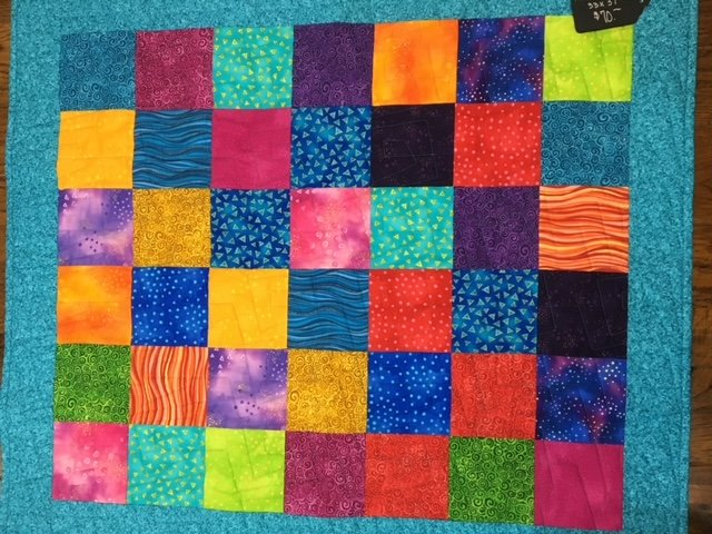 Laura Burch Patchwork Quilt -  33x37