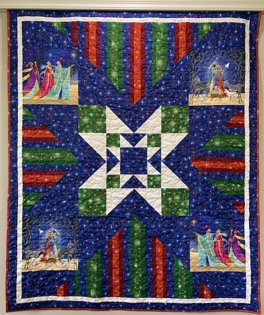Christ is Born Quilt Kit - 54x66 Throw