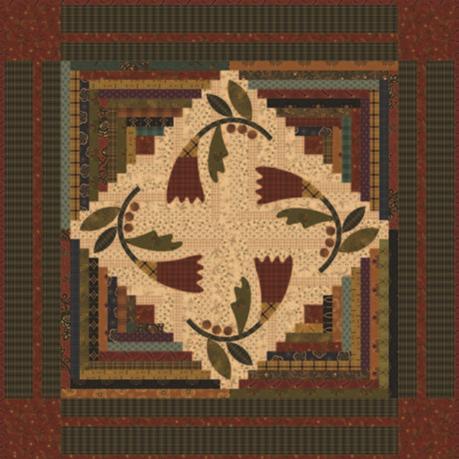 Cotton Blossom 24.5x24.5