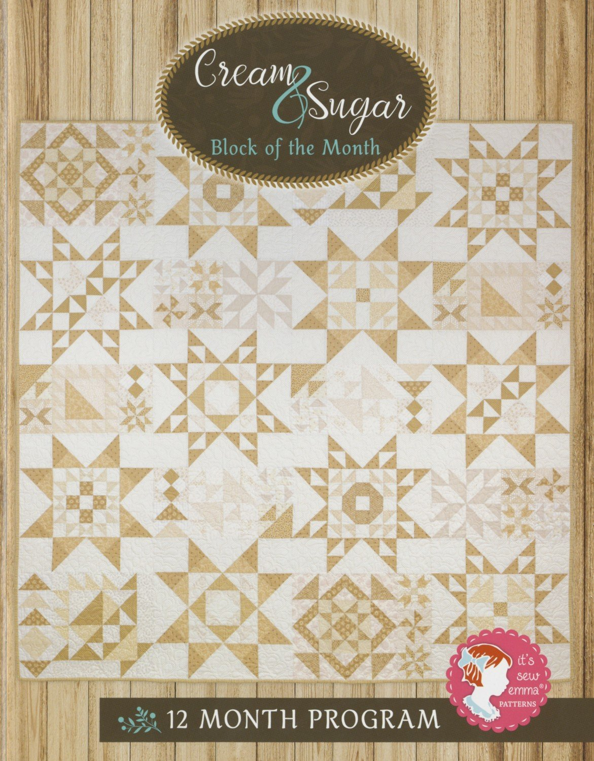 Cream And Sugar quilt Kit 80 1/2 X 80 1/2