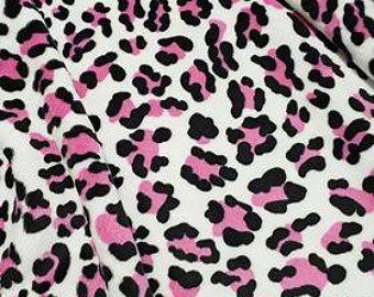 White/Pink Baby Leopard Cuddle