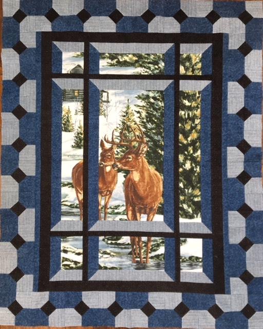 Modern Window Kit - Deer