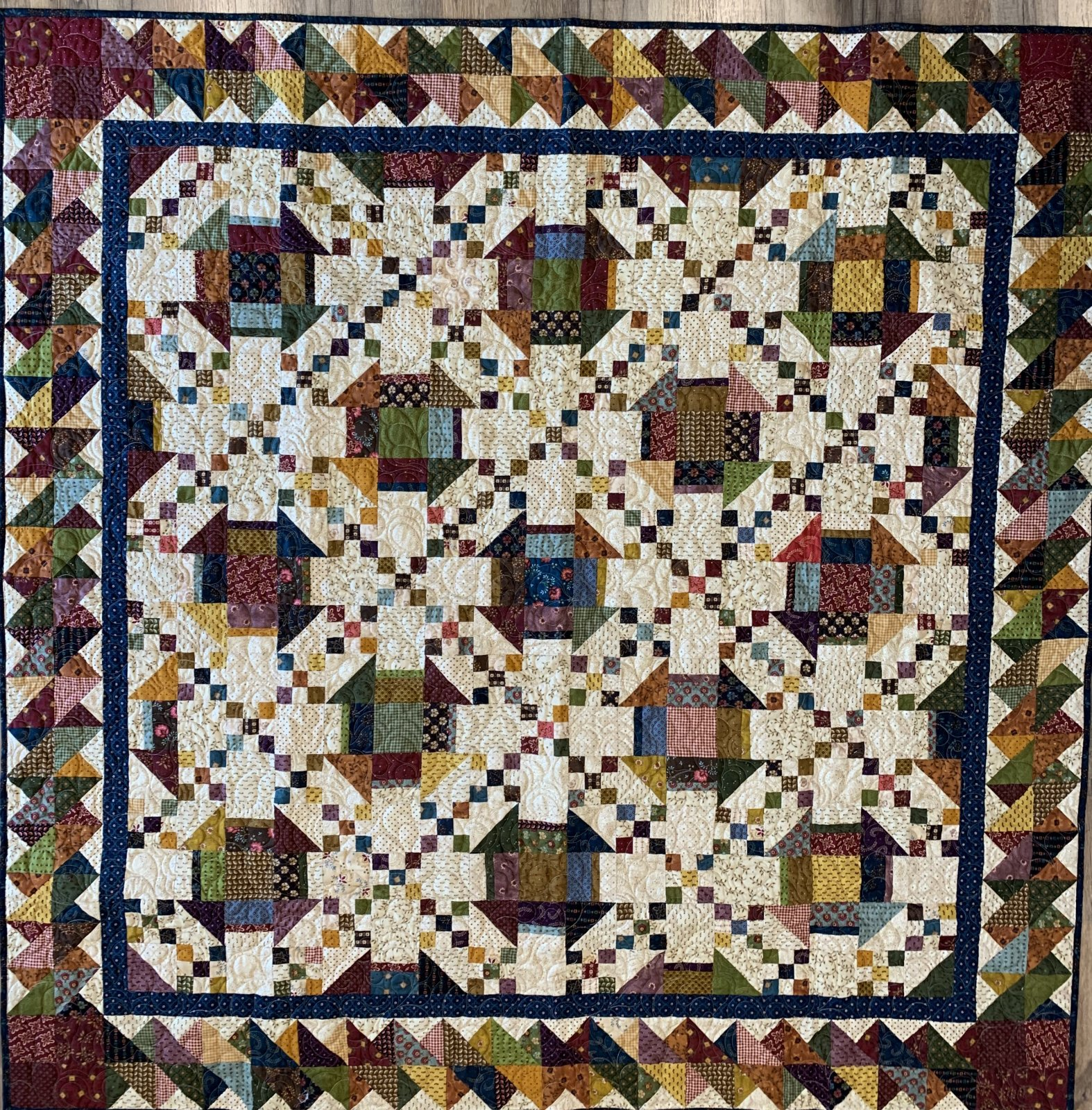 Sunday s Best Quilt 66 x 66