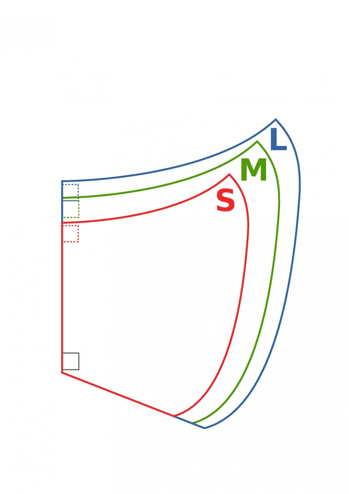 Duckbill Sizes - Use Duckbill Pattern