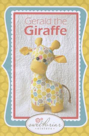 Gerald the Giraffe Kit w/Pattern - Pink/Grn