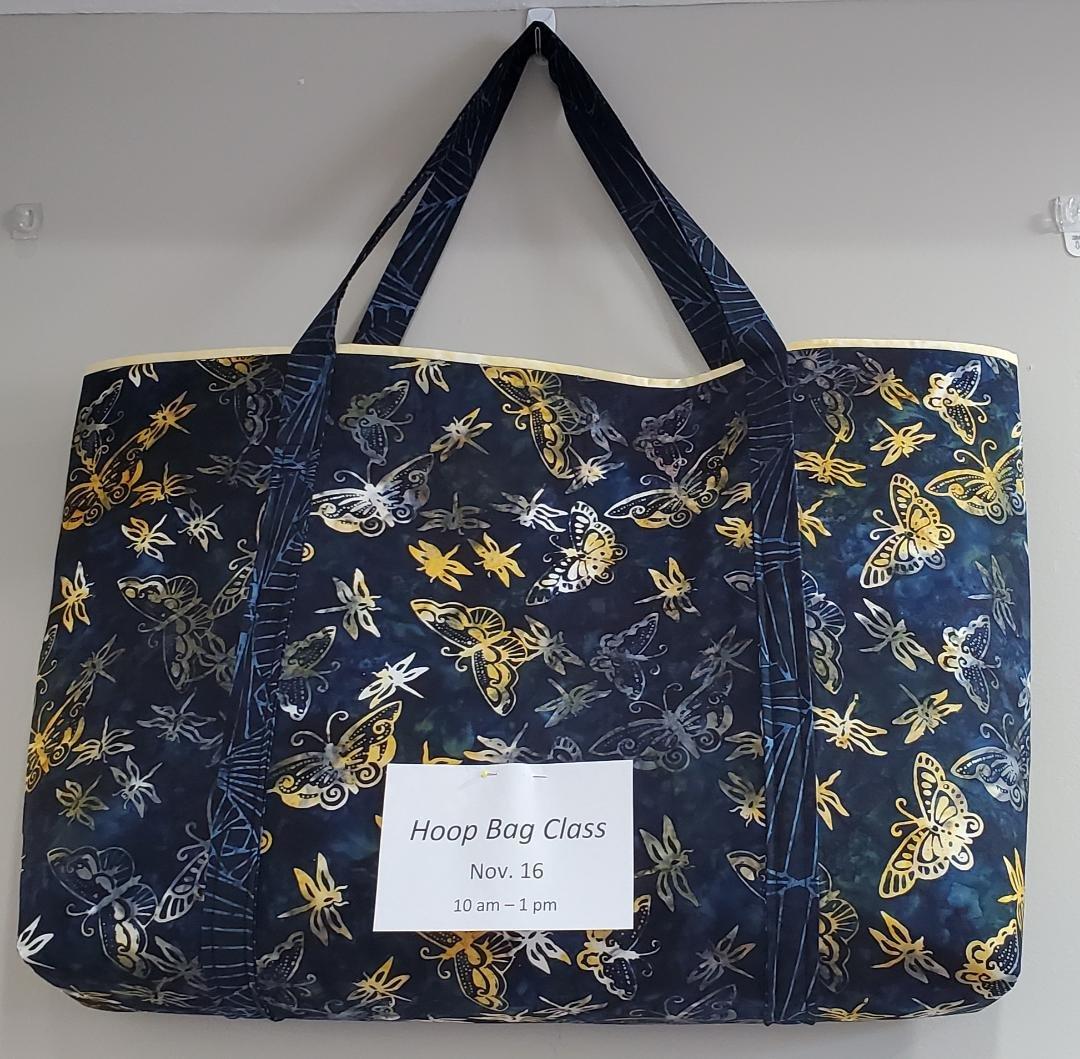 Hoop Tote Bag Supply List