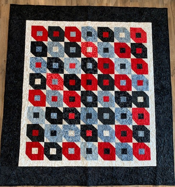 Fire and Ice Quilt 57x63