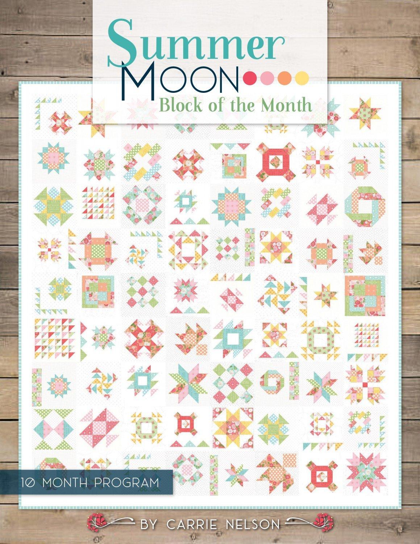Vintage Summer Moon - Block of the Month Registration