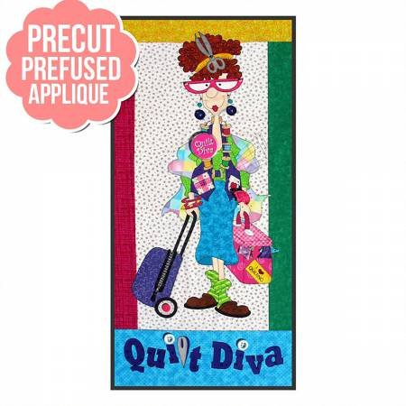 PT Kit - Quilt Diva Pre-cut Quilt Kit
