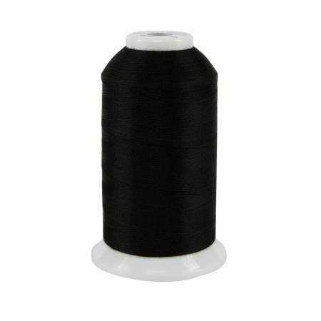 So Fine Polyester Thread 3-ply 50wt 3280yds Black 411