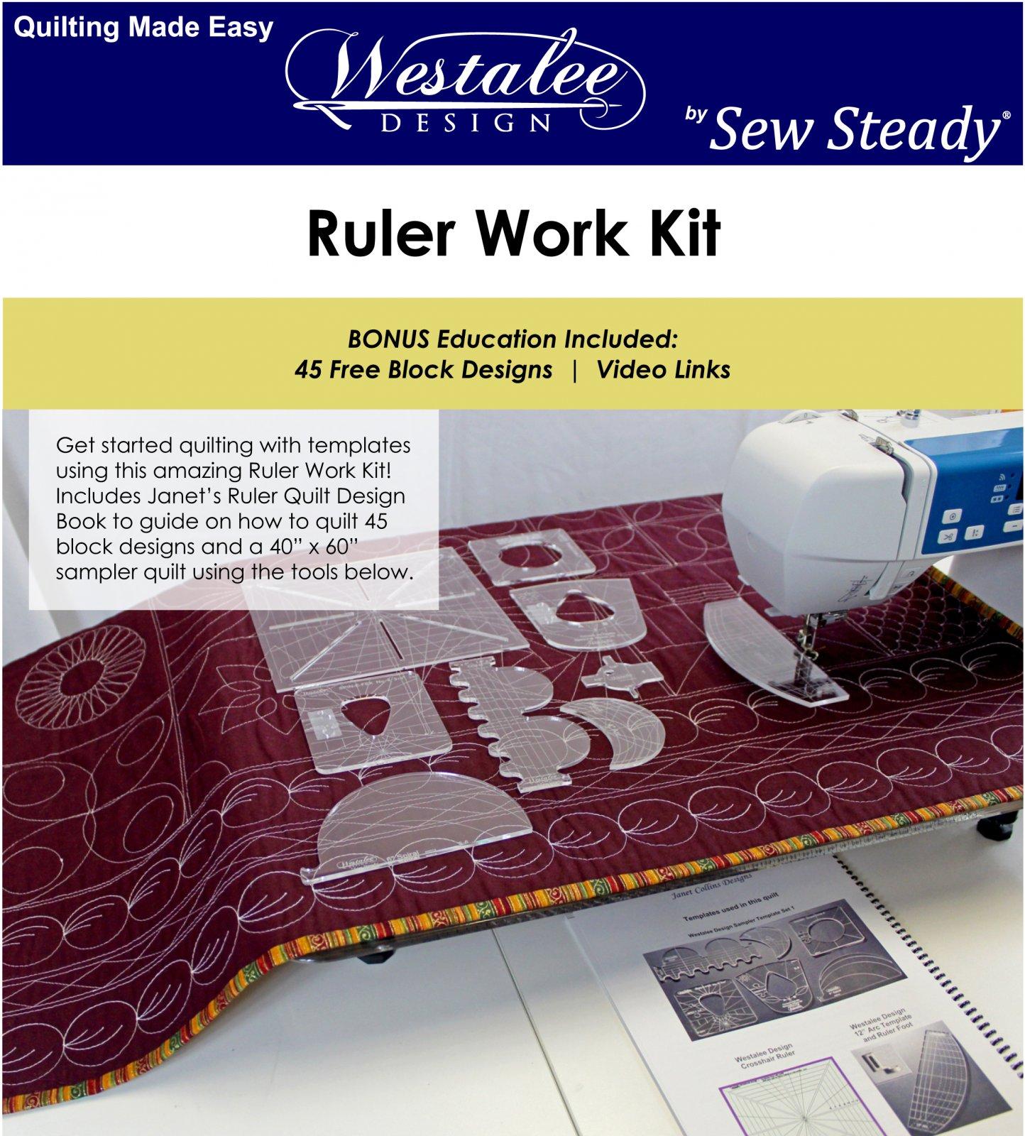 Ruler Work Starter Kit - Low Shank foot