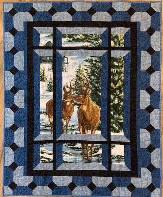 Winter Stillness Throw 47x59 Flannel