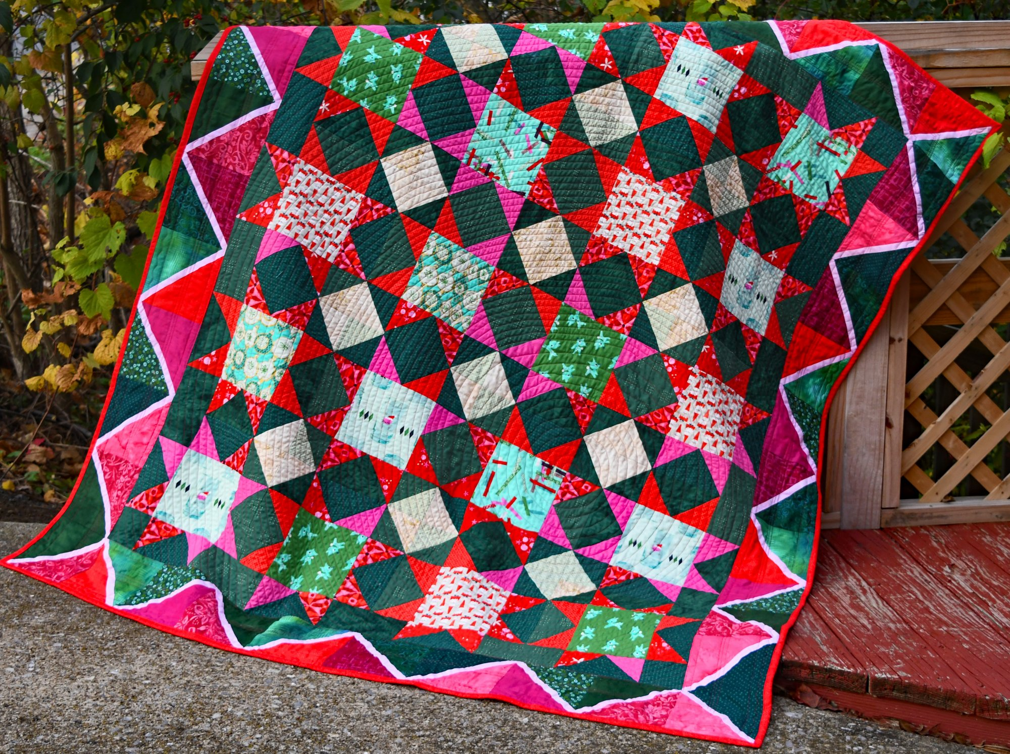 Holiday Lap Quilt
