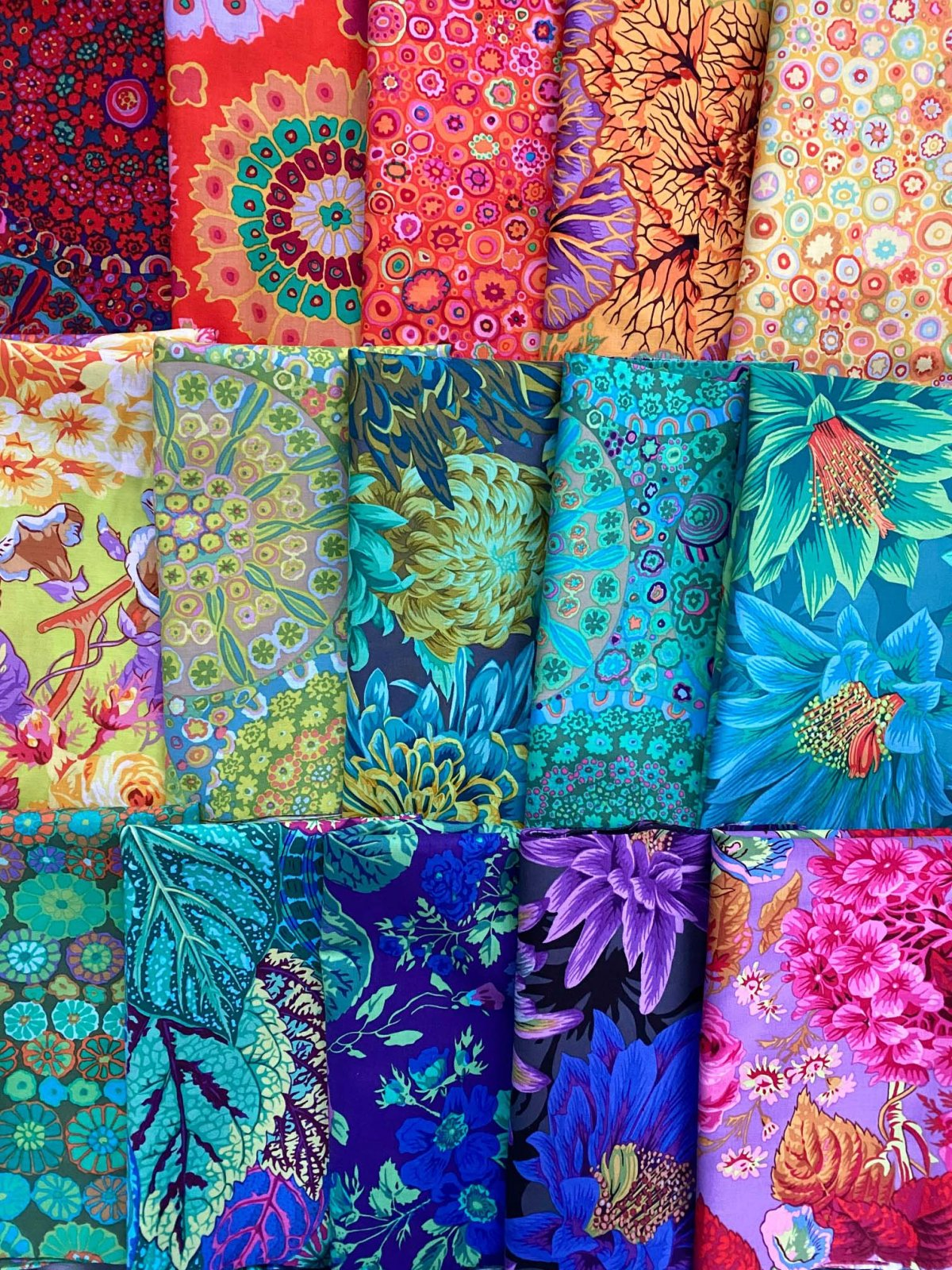 Kaffe Bundle of 15 Fabrics, half yards