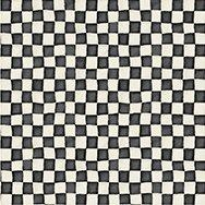 Adventures in Wonderland - Checkerboard - Black/White
