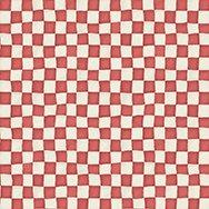 Adventures in Wonderland - Checkerboard - Red/White