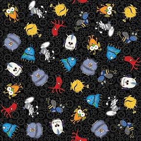 Matthew's Mini Monsters - Tossed Monsters - Multi