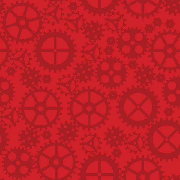 Matthew's Mini Monsters - Tonal Gears - Red