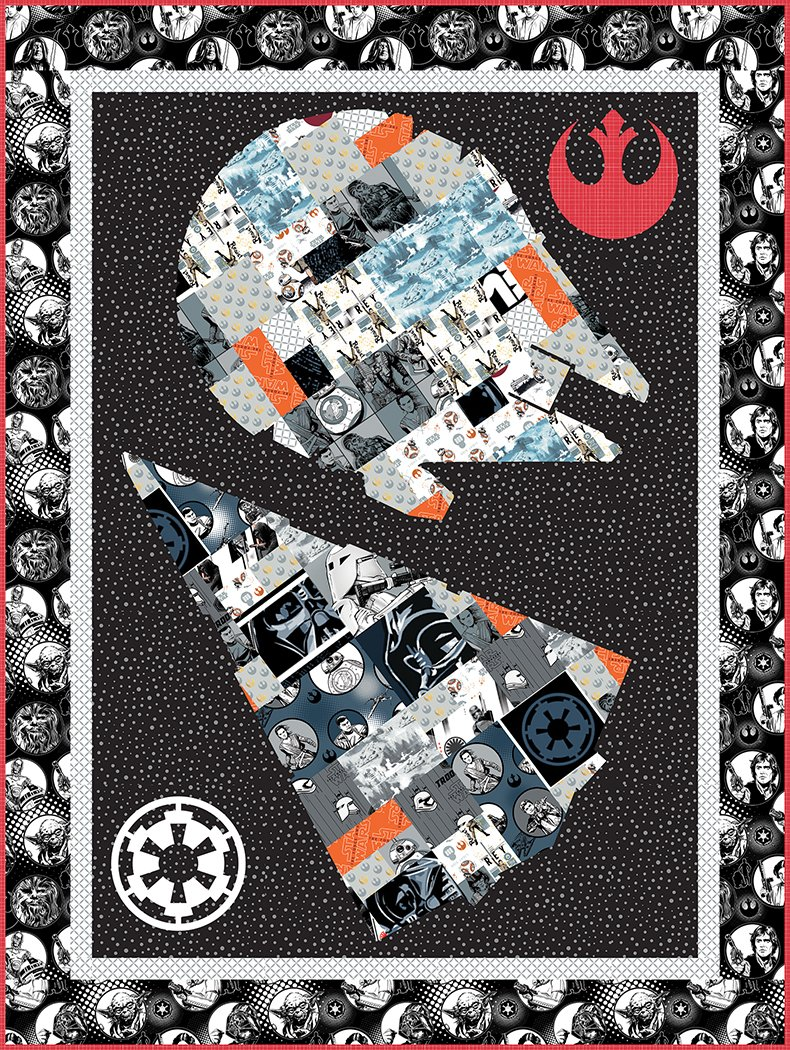 A Galaxy Far Far Away - Pattern