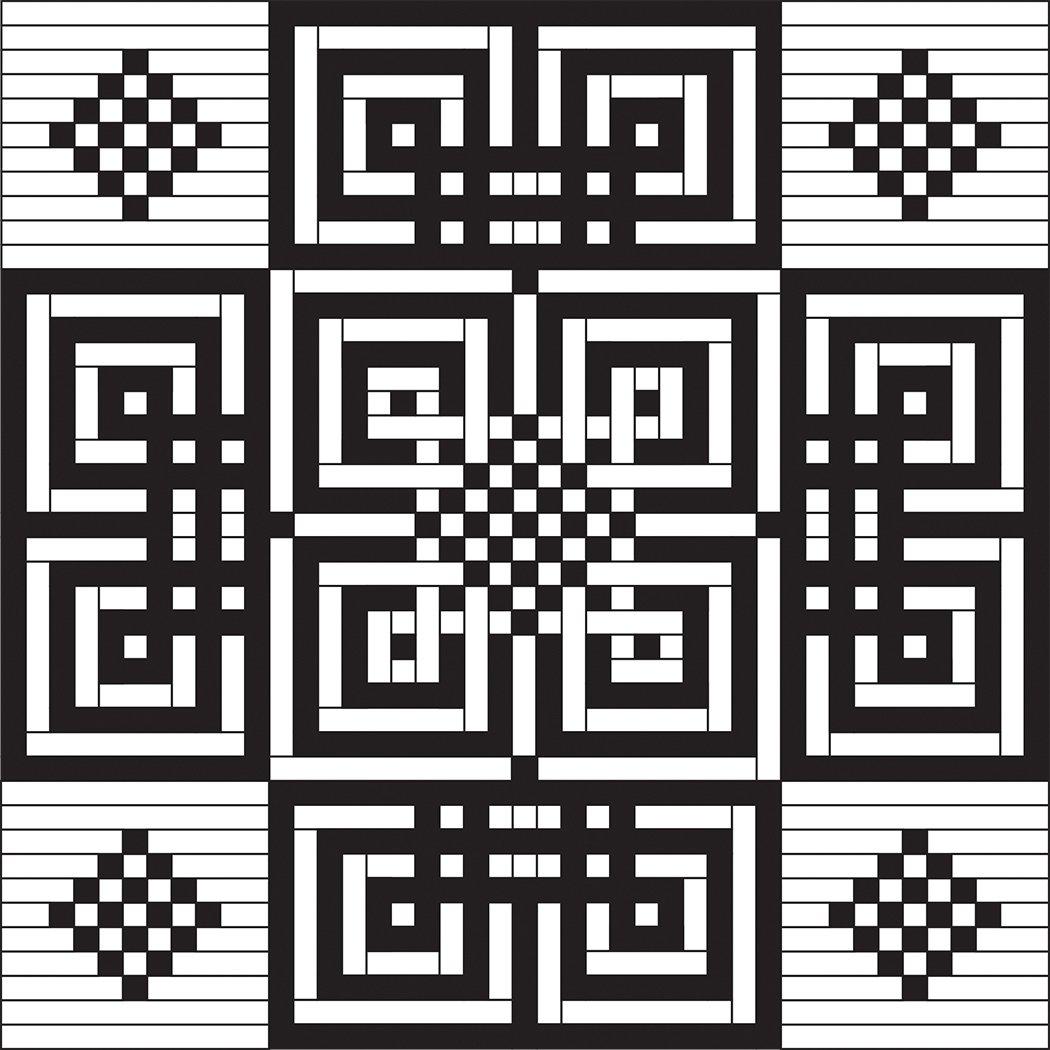 A-Maze-ing - Digital Download Pattern