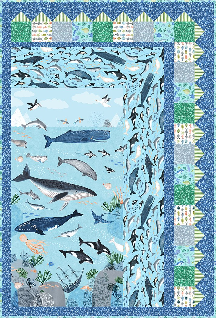 A Whale of a Time - Digital Download Pattern