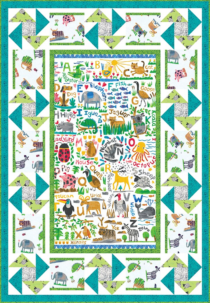 Animal ABC's - Digital Download Pattern