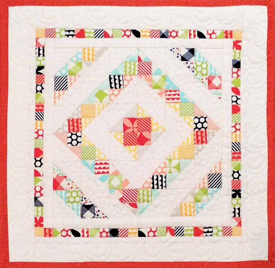 Around the Square (mini quilt) - Pattern