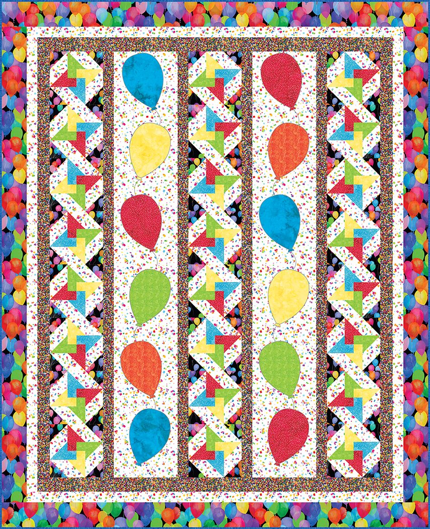 Balloons Galore - Digital Download Pattern