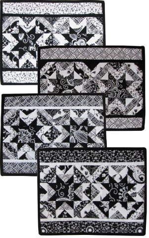 Black and White Delight - Digital Download Pattern