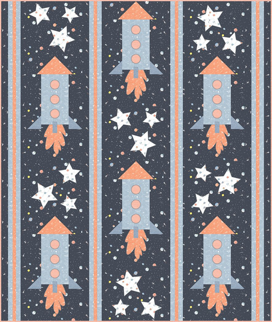 Blast Off  - Digital Download Pattern