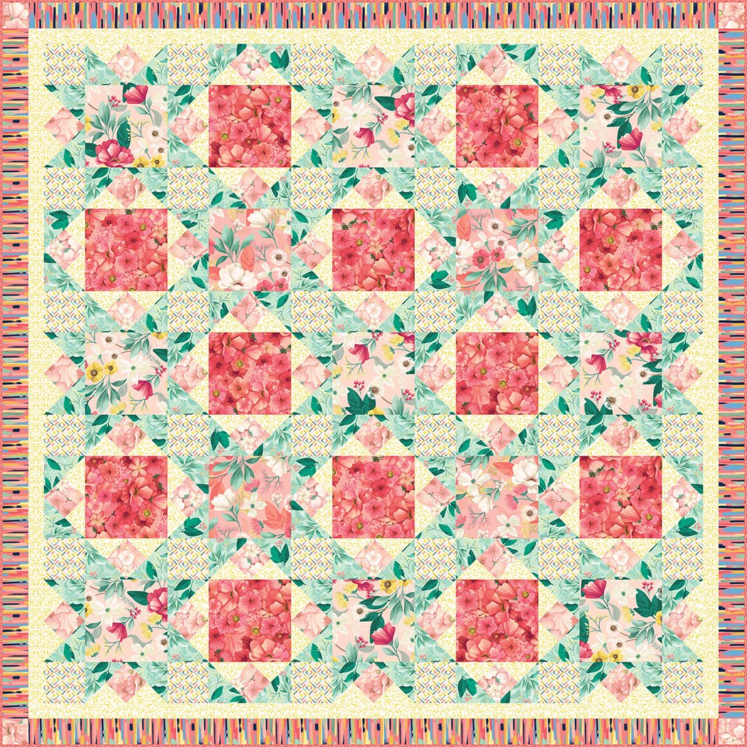 Blooming Lattice - Pattern