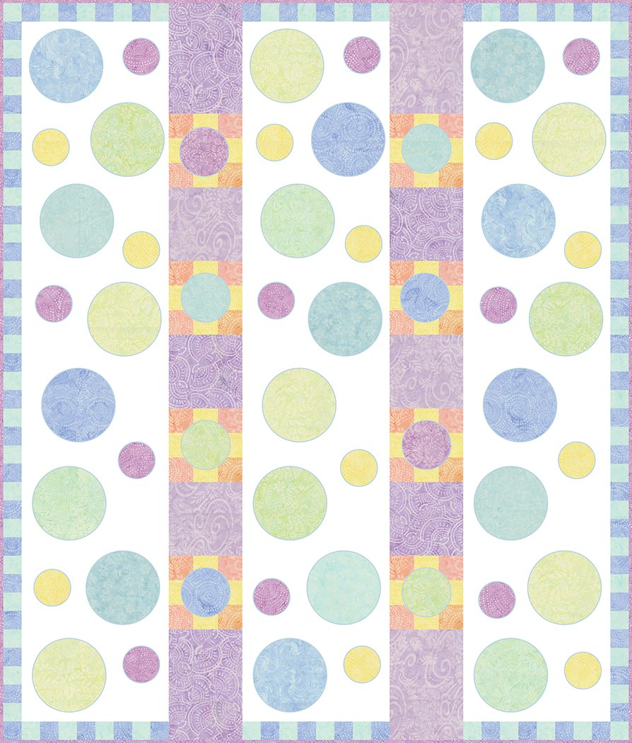 Bubbles of Happiness - Digital Download Pattern