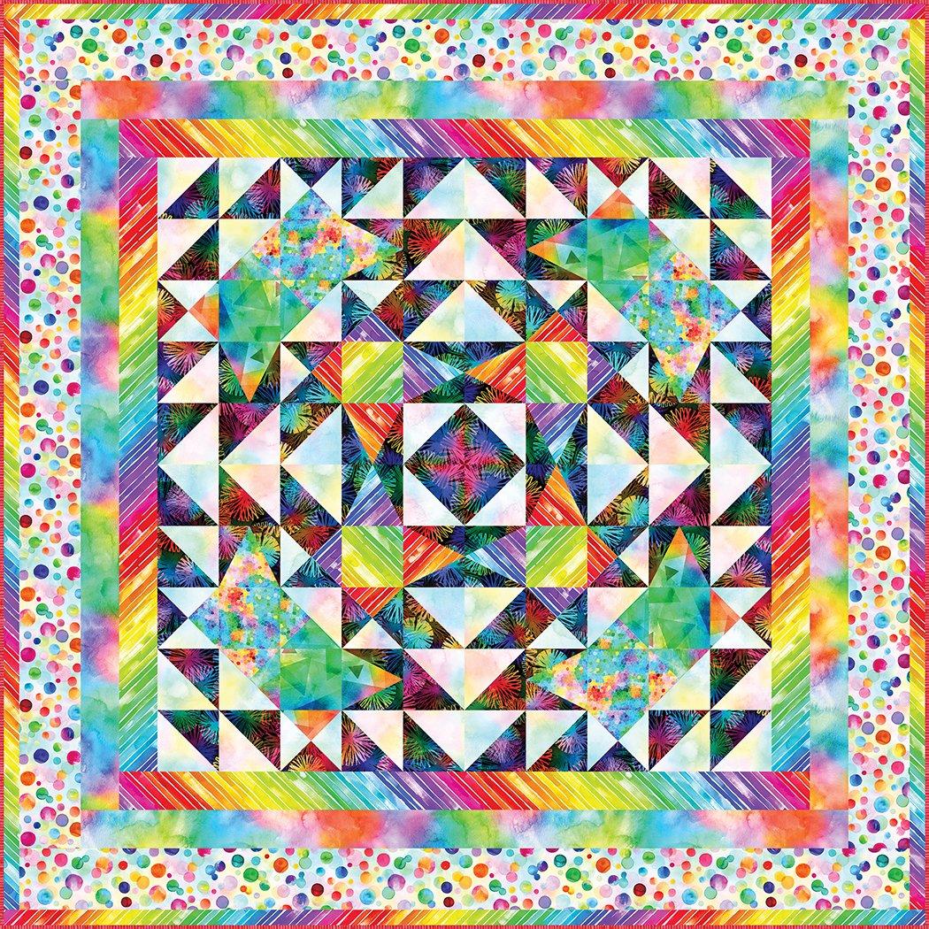 Burst of Color - Digital Download Pattern