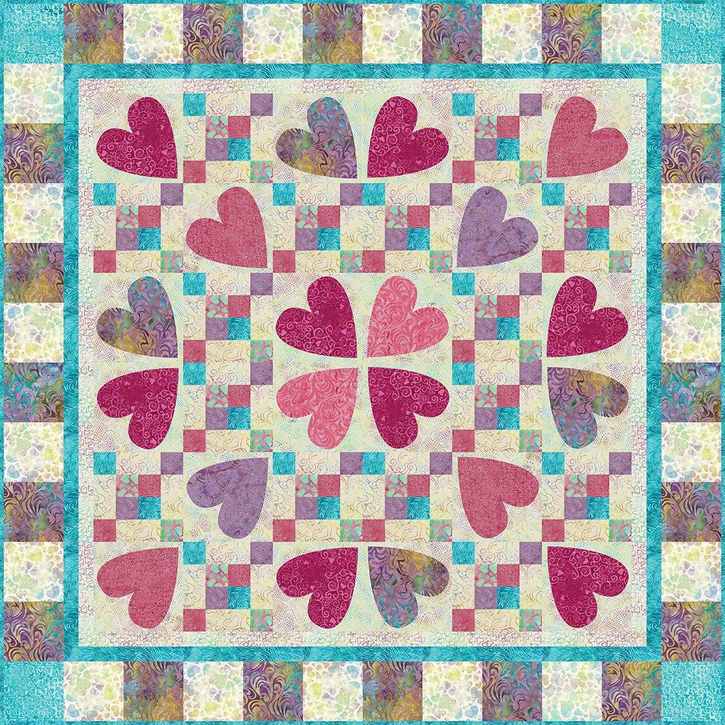 Burst of Love - Pattern