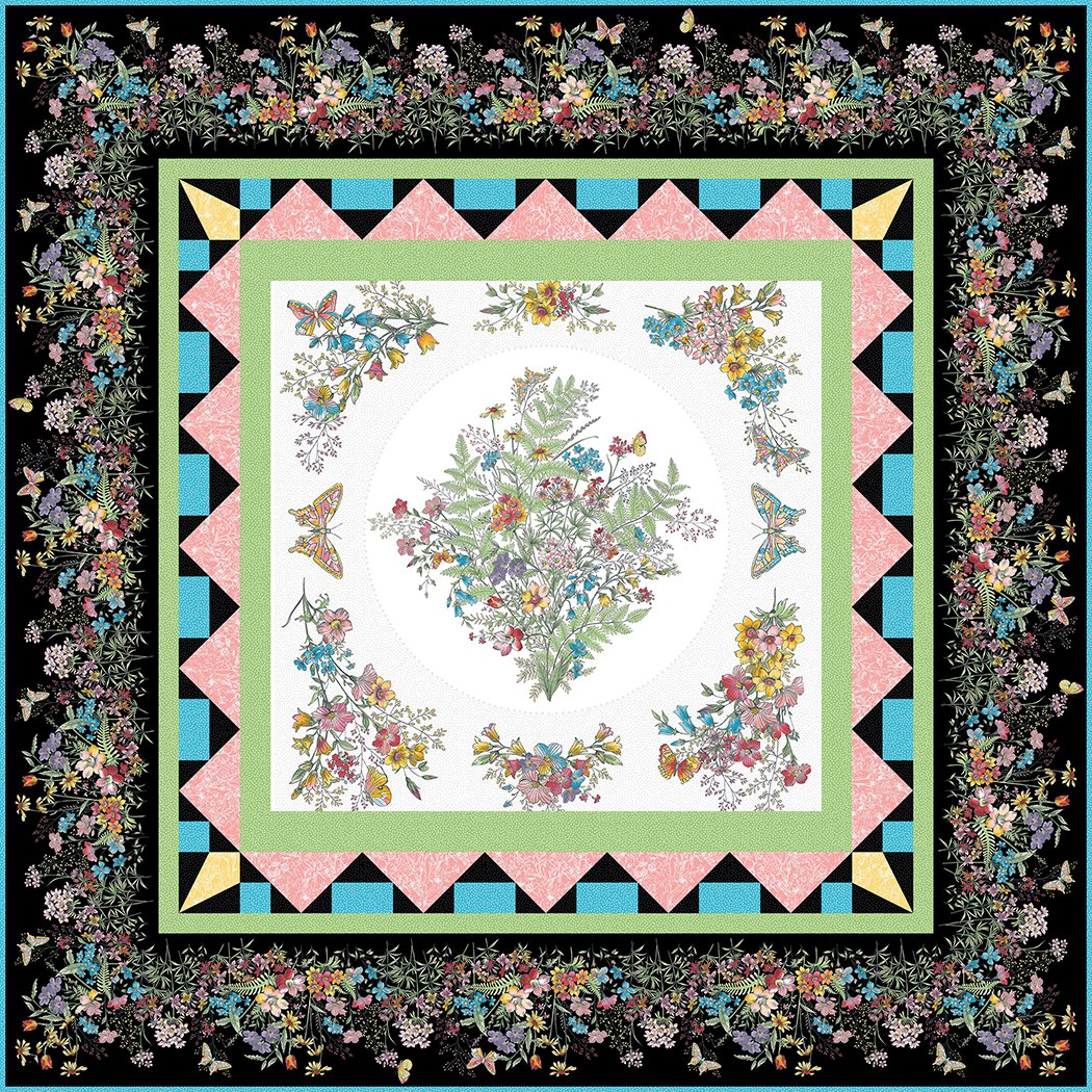 Butterflies & Blooms - Pattern