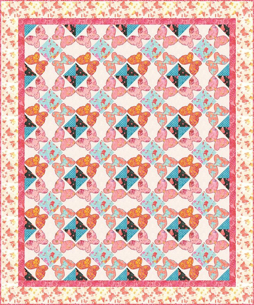 Butterfly Frolic - Pattern