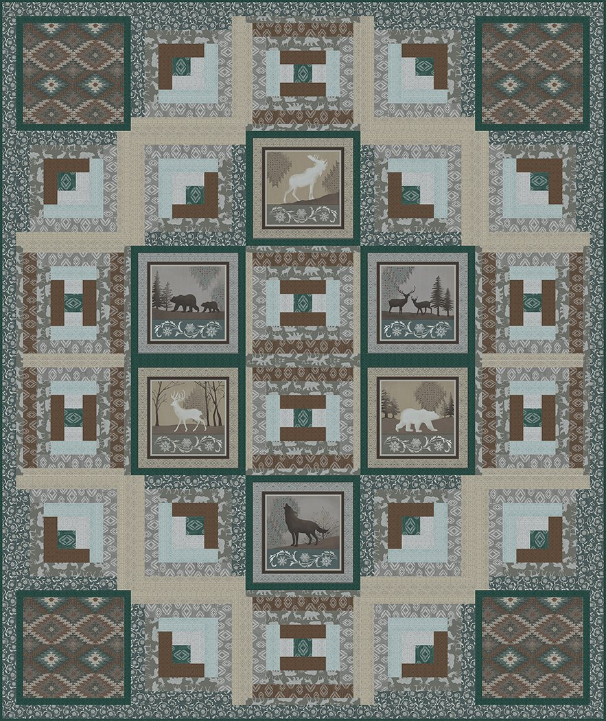 Cabin in the Woods - Digital Download Pattern
