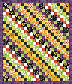 Checkerboard Halloween - Pattern