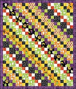 Checkerboard Halloween - Pattern