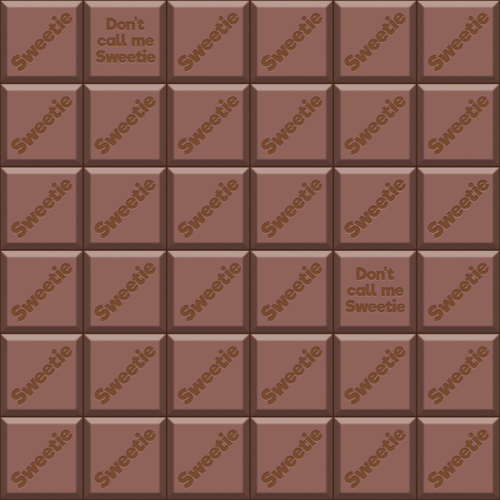 Milk Chocolate Bar - Fabric