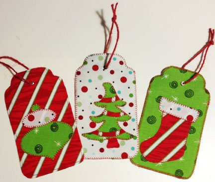 SVG Christmas Gift Tags - Digital Download SVG