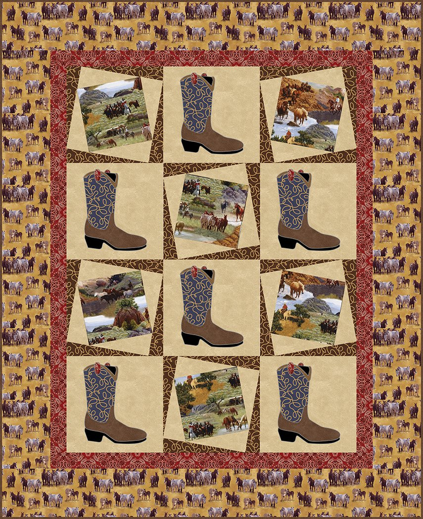 Cowboy Memories II - Digital Download Pattern