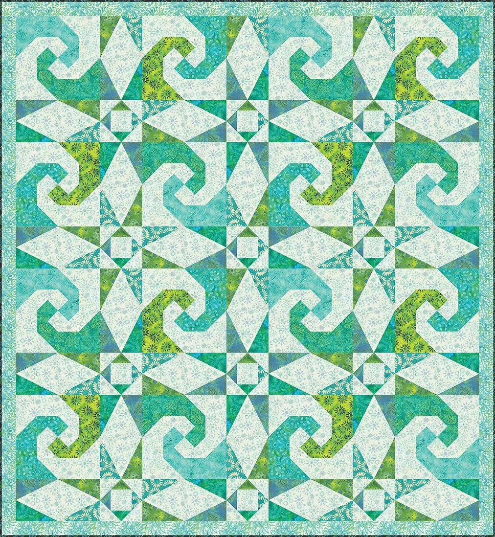Cresting Waves - Digital Download Pattern